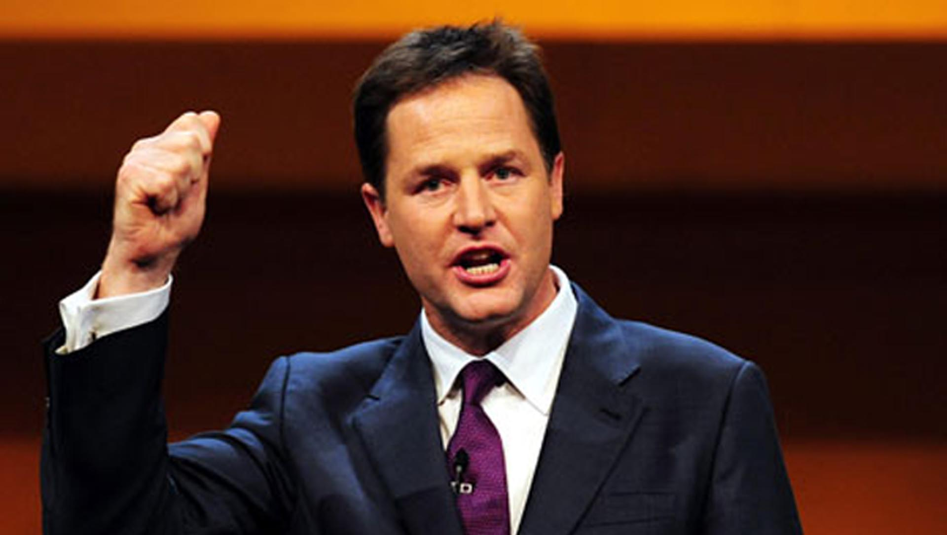 Nick Clegg About Highbrid And Electric Cars